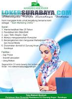 Bursa Kerja Surabaya Terbaru di Toko Makkah Madinah Juli 2019