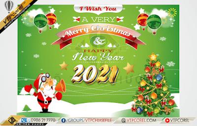 Phông nền giáng sinh - Merry Christmas 2020