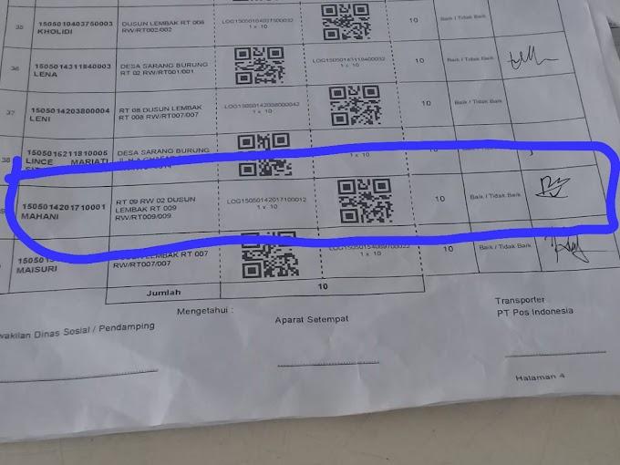 Bantuan PPKM Beras 10 Kg di Muaro Jambi Diduga Ditilap oleh Oknum Pegawai Pos