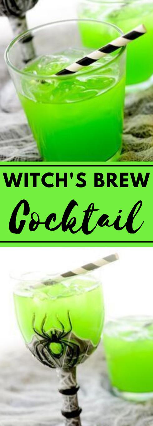 WITCH'S BREW COCKTAIL #cocktail #brew #recipes #party #sangria