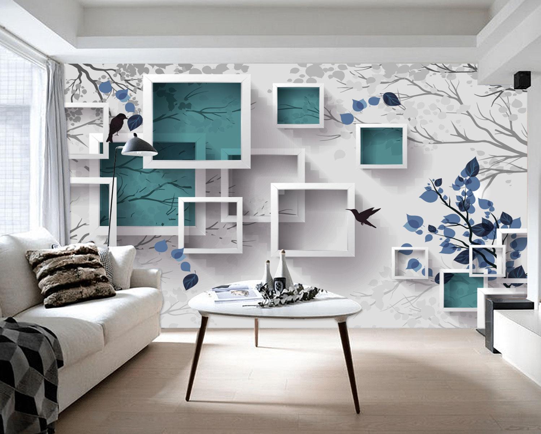 Tranh Dán Tường 3D Phong Cảnh Nghệ Thuật