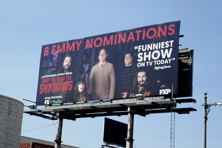What We Do in the Shadows 8 Emmy nominations billboard