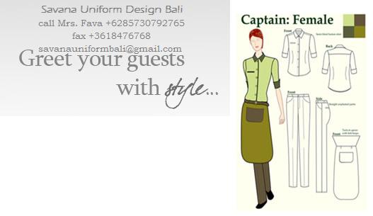 Savana uniform design bali for Uniform spa bali