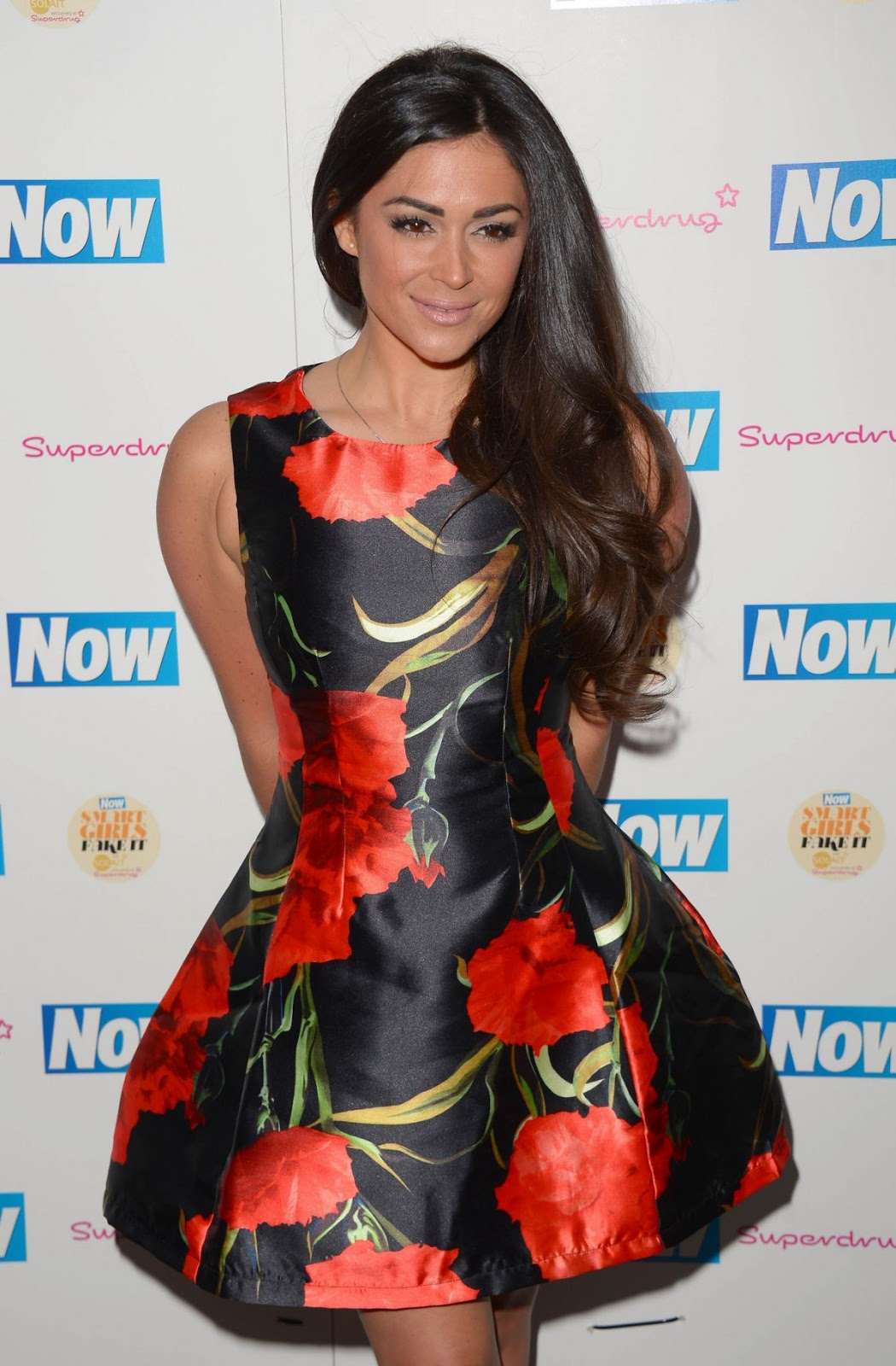 Casey Batchelor At Now Smart Girls Fake It Campaign With Superdrug Solait Launch Party In London