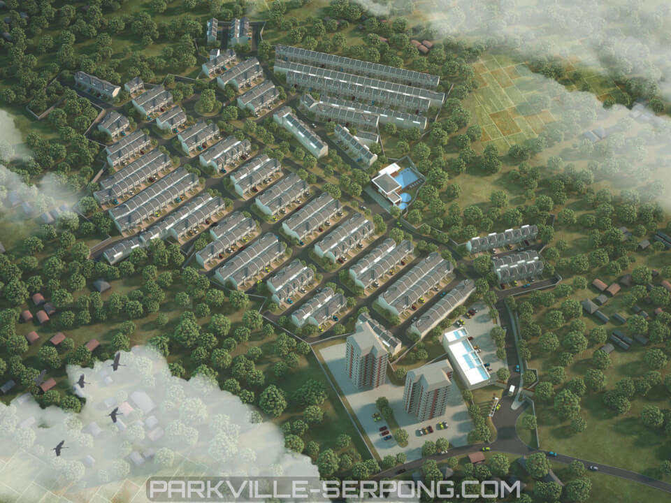 Bird Eye View ParkVille Serpong