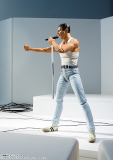 S.H.Figuarts Freddie Mercury Live Aid Version, de Tamashii Nations.