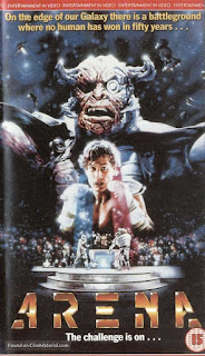Arena (1989) VHS Cover