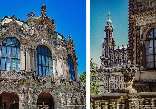 Zwinger, Dresden, Alemanha