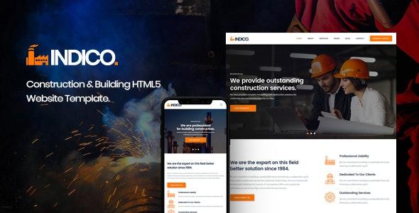 Best Construction & Building HTML Template