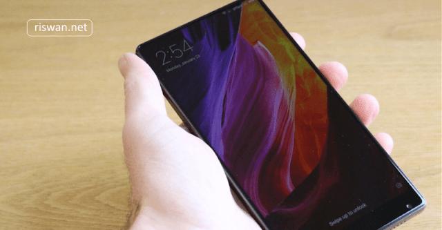 6 Hp Xiaomi RAM 6GB dengan Harga Termurah 2018 - Xiaomi Mi Mix