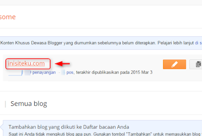 membuat dan memasang disclaimer di blog