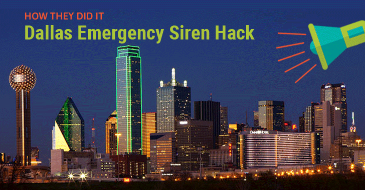 Here's How Hacker Activated All Dallas Emergency Sirens On Friday Night