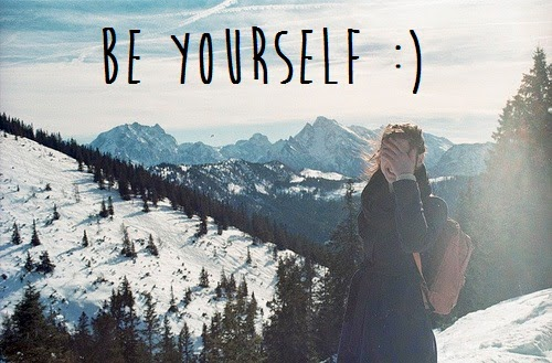 be yourself two word phrases