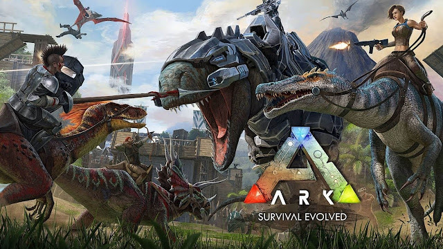 """Ark: Survival Evolved"" Game sinh tồn Đảo Khủng Long 2017"