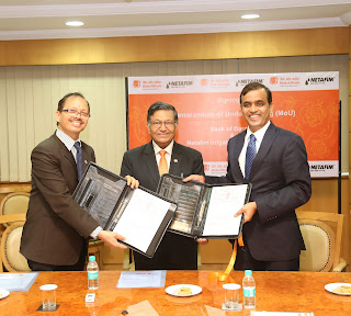 Bank of Baroda enters into MOU with Netafim Irrigation India Pvt.Ltd