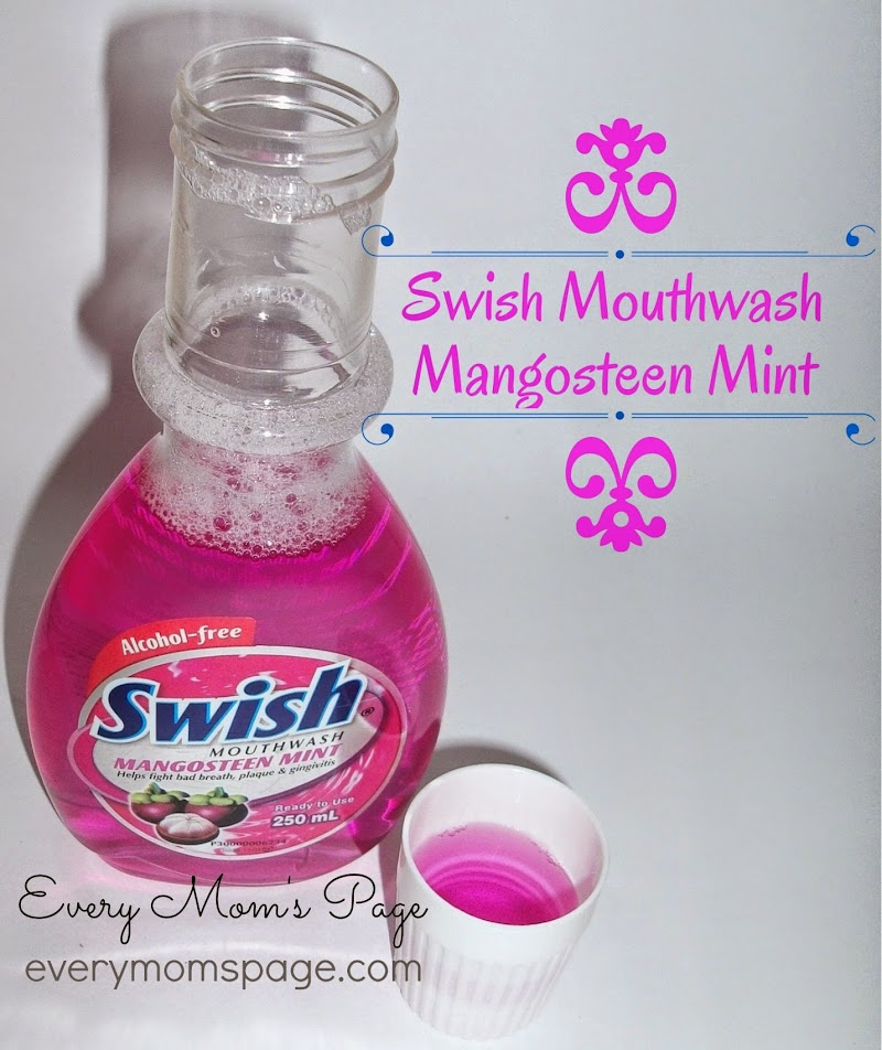 SWISH Mouthwash Mangosteen Mint #alwaysfresh #alwayson