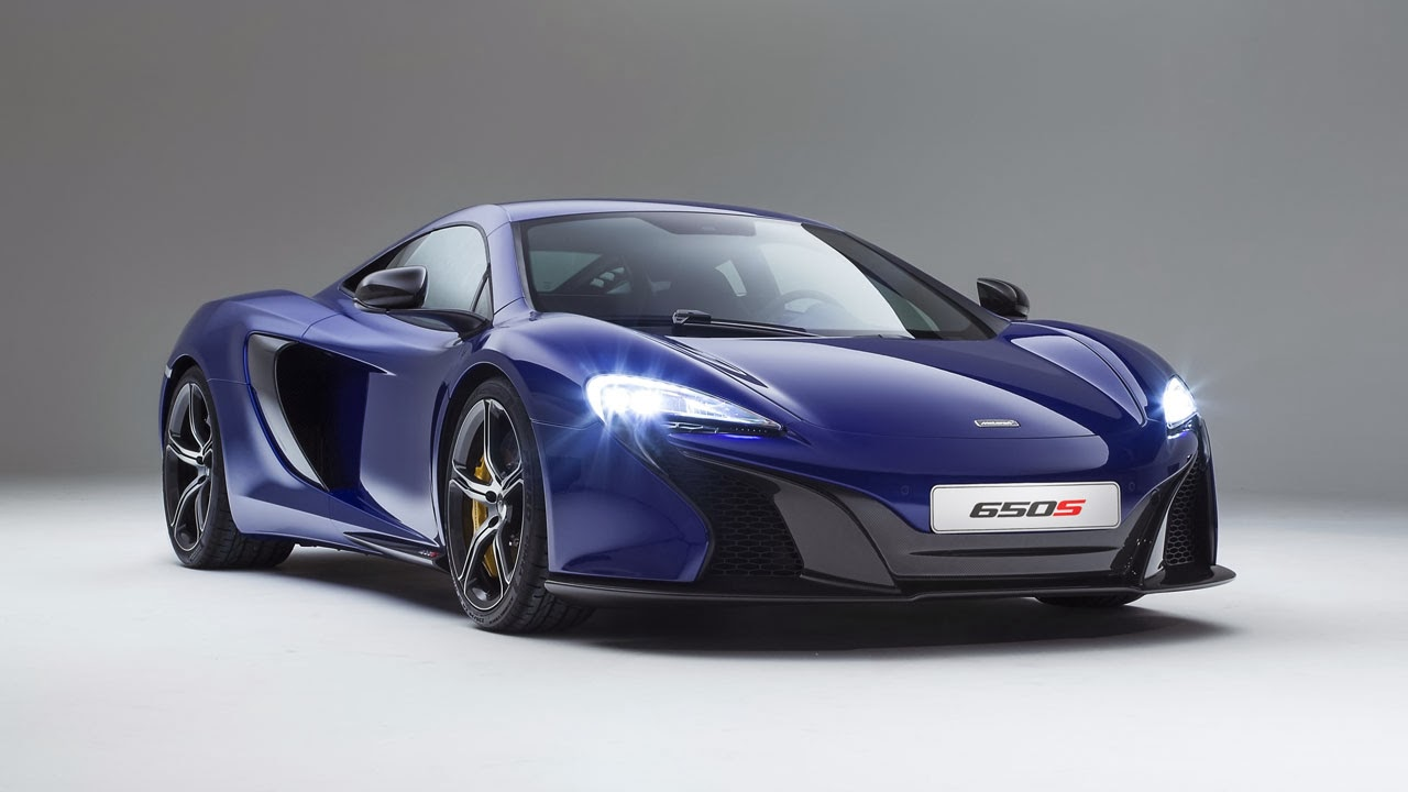 McLaren 650S Coupé front side