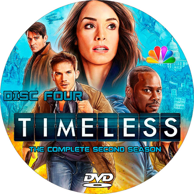 Timeless Season 2 Disc 4 Label Cover