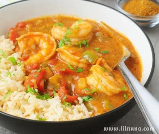 Homemade Authentic Cajun Shrimp Etoufee