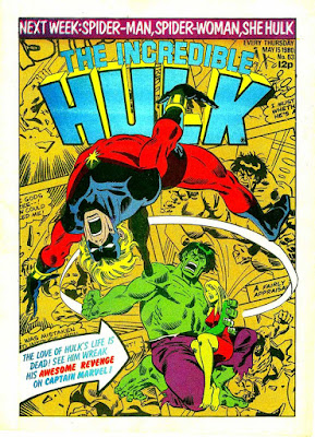 Incredible Hulk Weekly #63, Captain Marvel