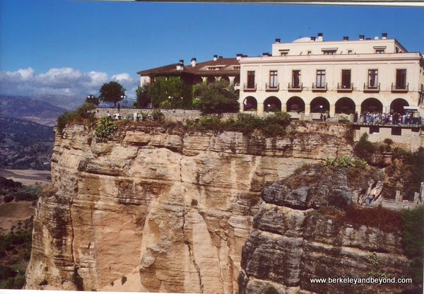 cliff-top Parador de Ronda in Ronda, Spain