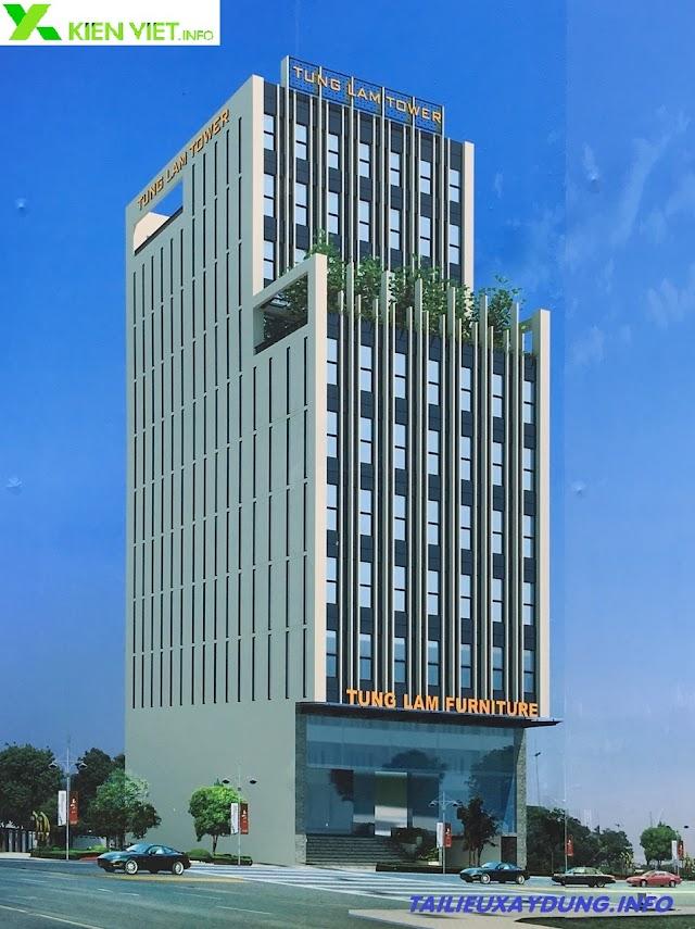 Hồ sơ thiết kế tòa nhà văn phòng 11 tầng