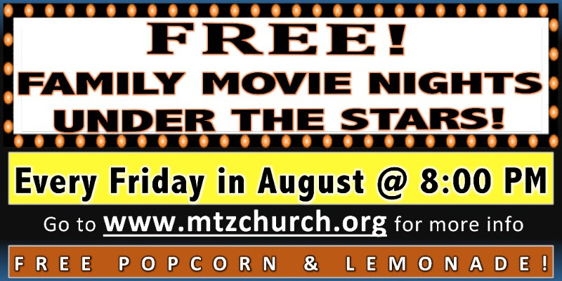 Mt. Zion Fri Night Movie Nights