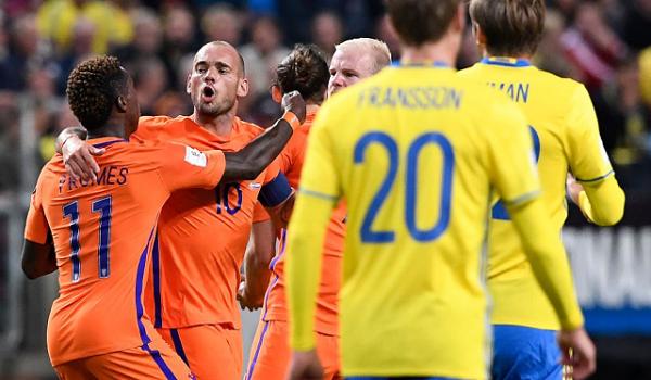 Prediksi Belanda vs Swedia Kualifikasi PD 2018