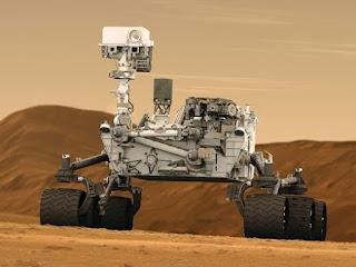 Mars Rover, Curiosité, Voyage Spatial, Robot