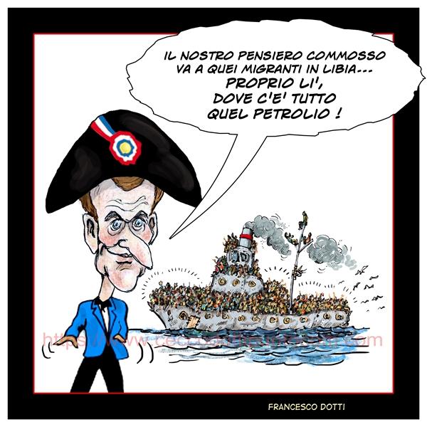 Francia petrolio Libia