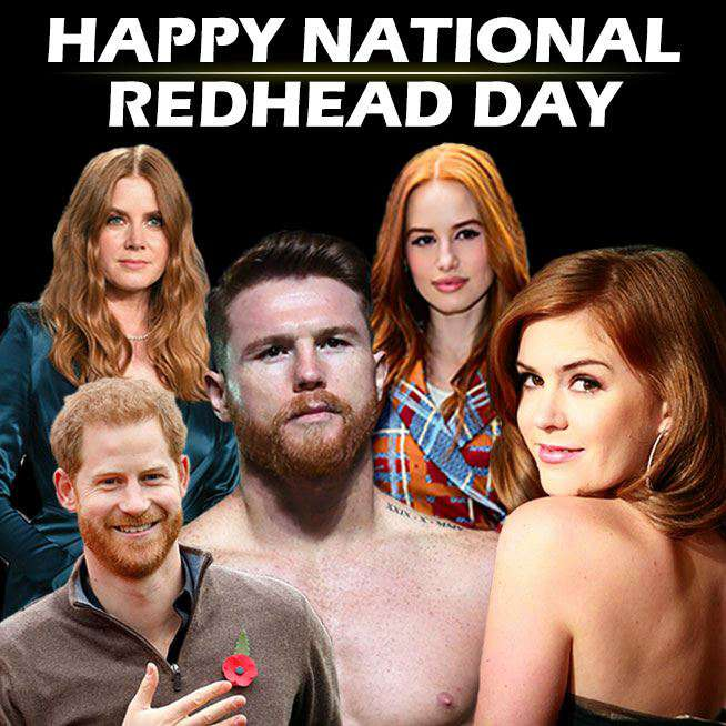 National Redhead Day Wishes For Facebook