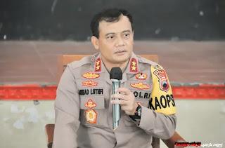 Kapolda Jateng Ahmad Luthfi Melarang Pesta Usai Pelantikan Bupati dan Walikota Besok
