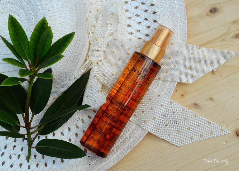 Brązujący olejek do opalania twarzy i ciała SPF 10 recenzja