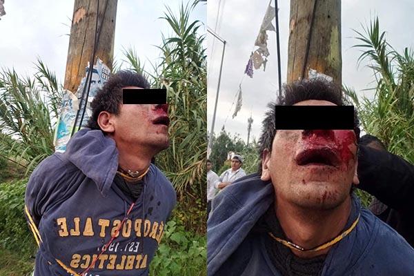 Intentan linchar a un asaltante en la Romero Vargas