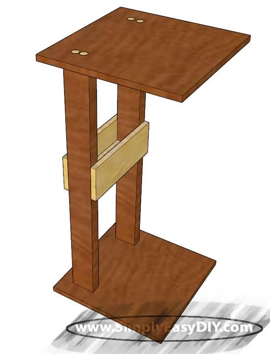 Sofa Arm Table Couch Table Metal Arm Sofa Tv Tray Ebay ...