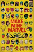 MARVEL COMICS 80TH ANNIVERSARY - CHARACTER FACE COLLAGE POSTER - 22x34 - 17500
