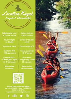 L'activité kayak chez Kayak et Découvertes