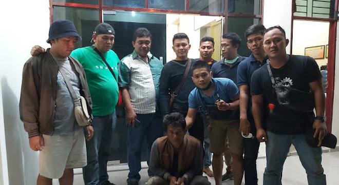 Napi Bengkalis Ditangkap Di Berastagi, Oleh Tim  Sat Reskrim Polres Karo