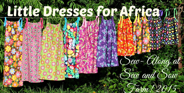 Pillowcase Dresses For Africa Interesting Sew And Sow Farm Little Dresses For Africa 60 SewAlong