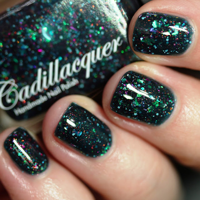 Cadillacquer Galaxies swatch by Streets Ahead Style