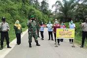 Giat Operasi Yustisi Memberikan Teguran Lisan Kepada Masyarakat Yang Tidak Memakai Masker