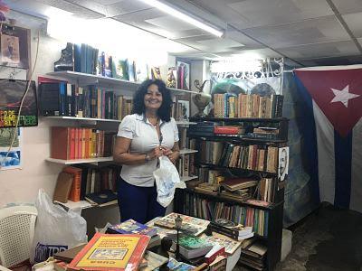 La Habana Vieja. Librería