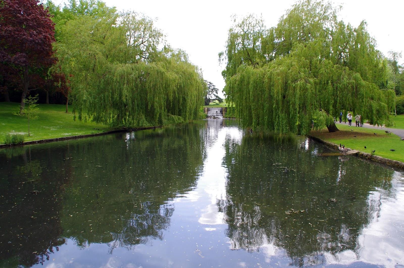 Leeds Castle Kent England Gardens