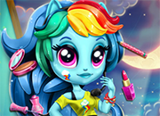Rainbow Dash K-Pop Style juego