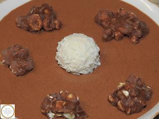 Mousse de ciocolata cu vanilie si rom,