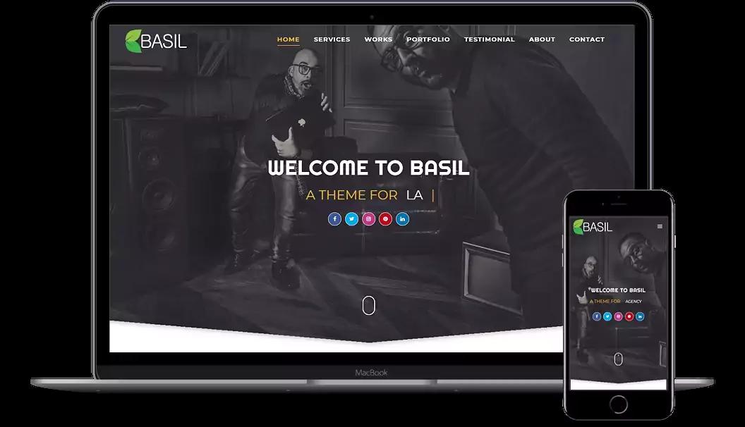 basil-blogger templates