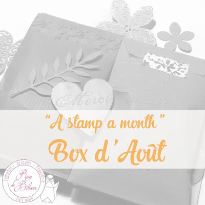 "A Stamp A Month - La Box d'Août ""Cocktail d'été"""