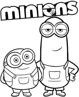 Desenhos do Minions