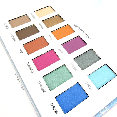 city color poolside palette | the beauty puff