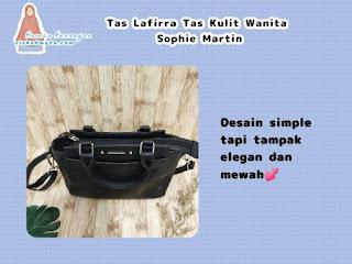 Tas kulit wanita sophie martin desain simple but elegan